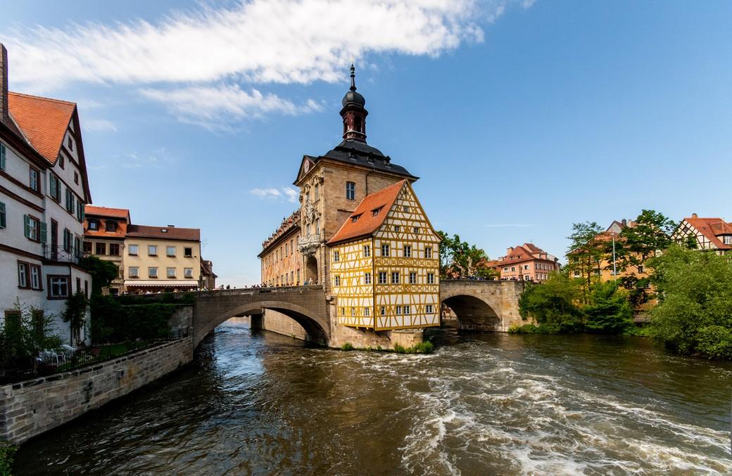Экскурсия по историческому центру города Бамберг
