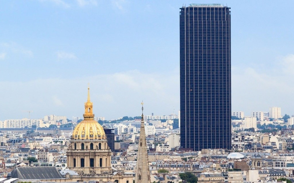 Подъем на башню Монпарнас