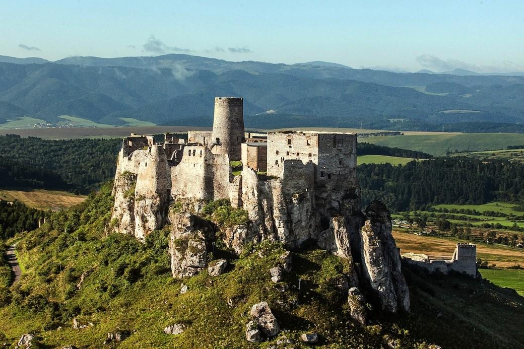 Поездка в Спишский град в Словакии
