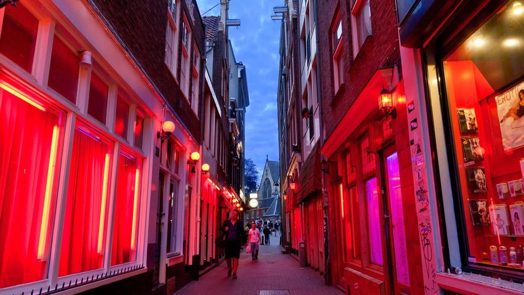 «Огни ночного АМСТЕРДАМА» по Кварталу Ред Лайт «Красные фонари»