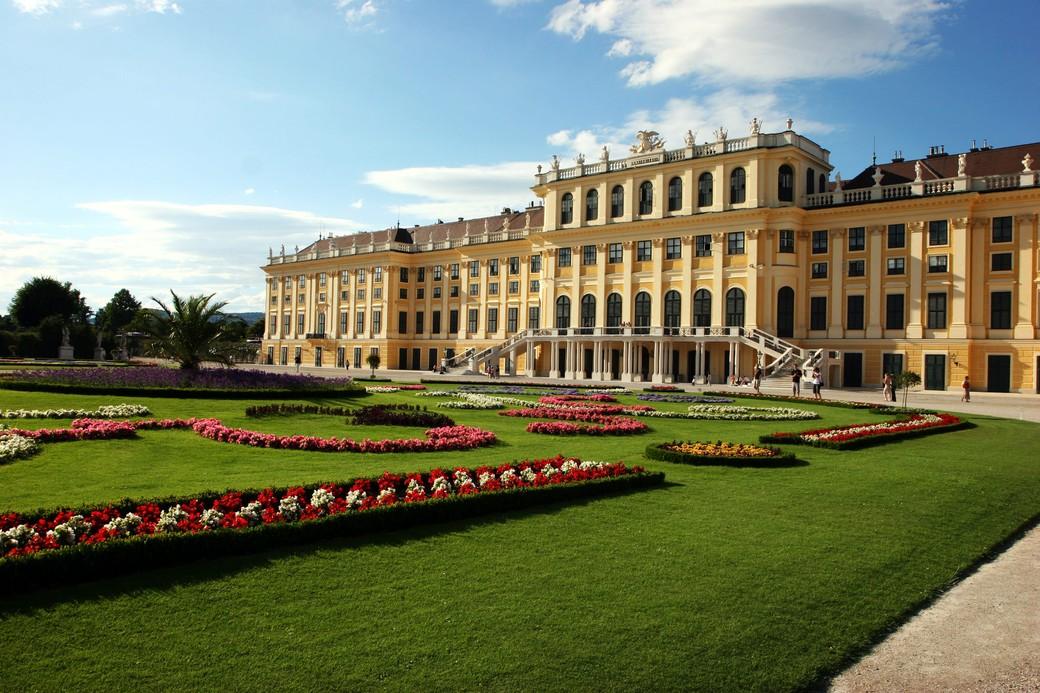 Поездка в дворцово-парковый комплекс Шёнбрунн