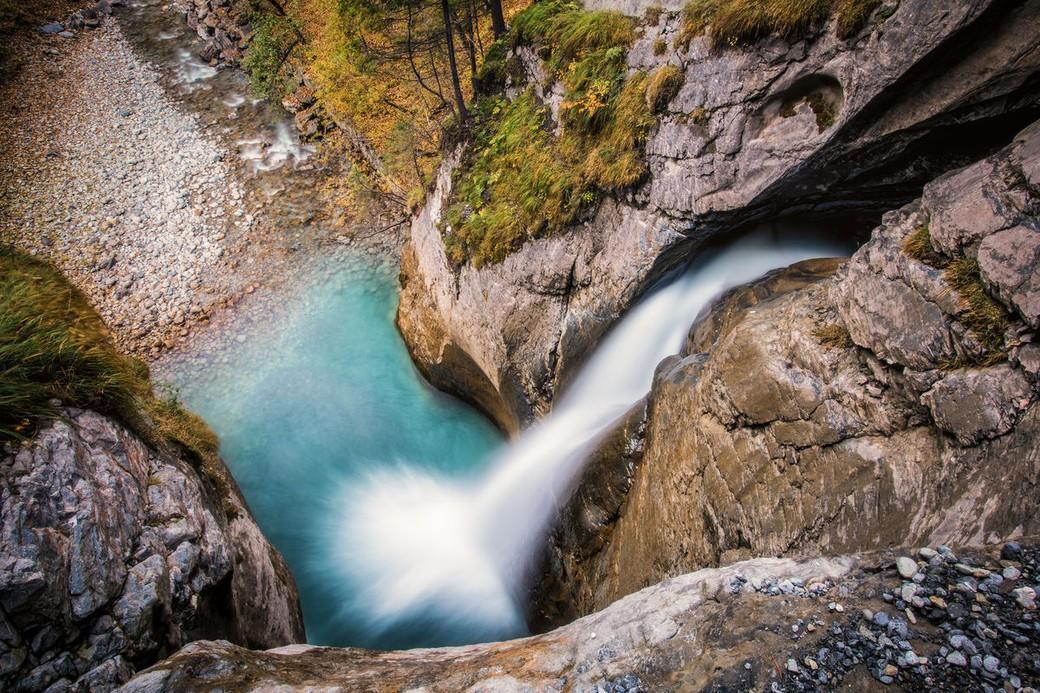 Поездка на Трюммельбахский водопад