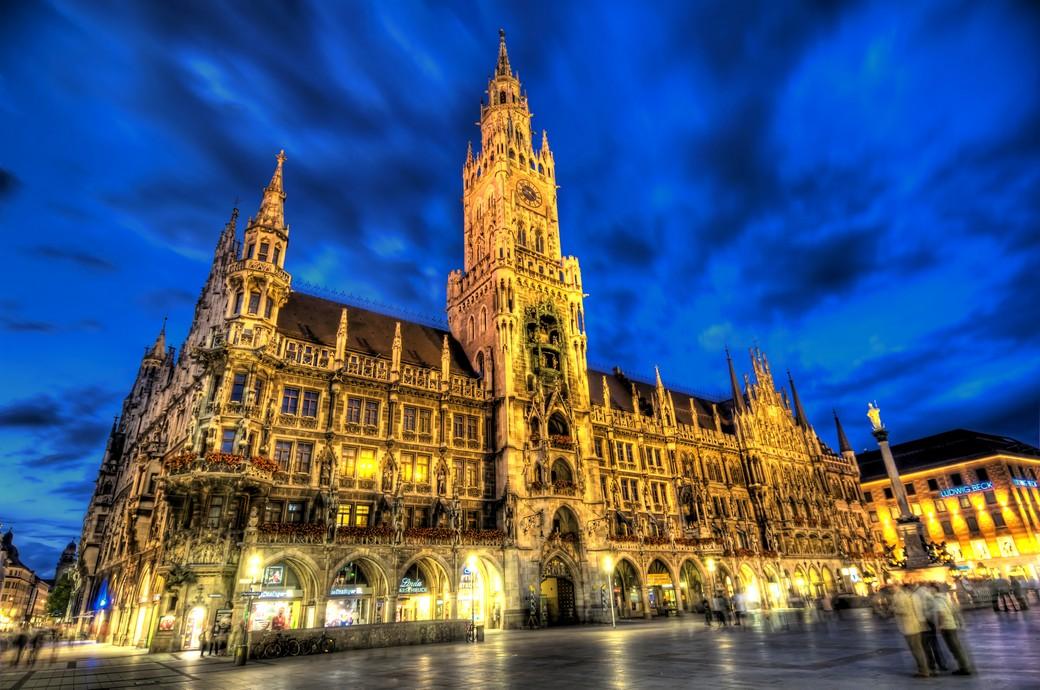 Вечерняя обзорная экскурсия по Мюнхену