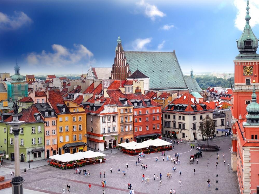 Обзорная пешеходная экскурсия по Варшаве
