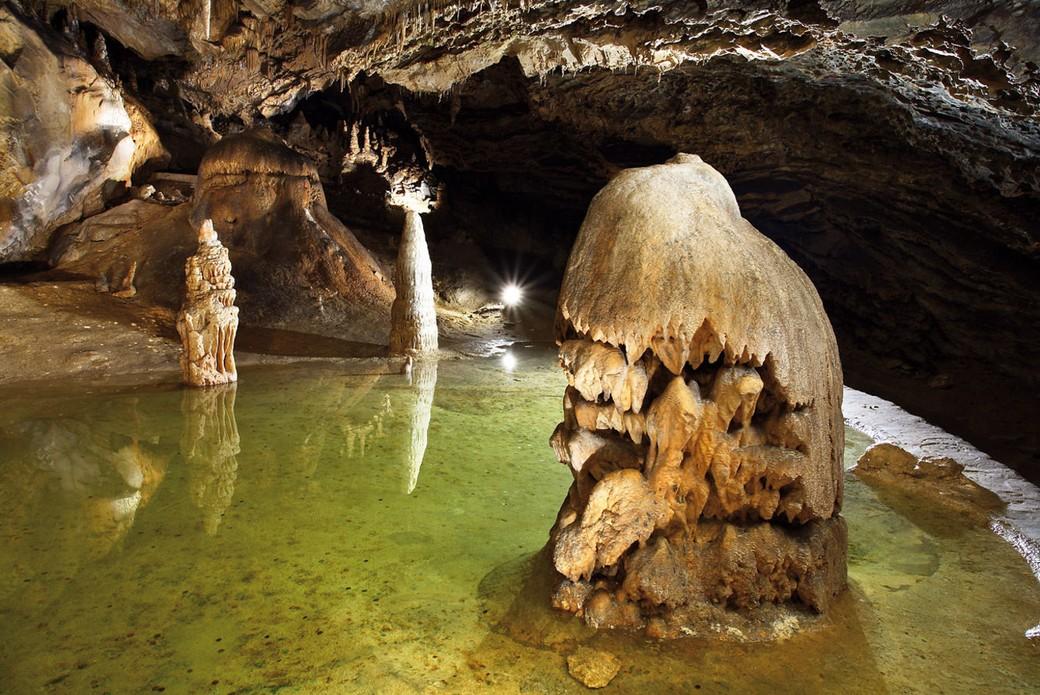 Поездка в Белянские пещеры