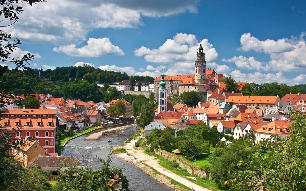Поездка в Чешский Крумлов и замок Глубока над Влтавой