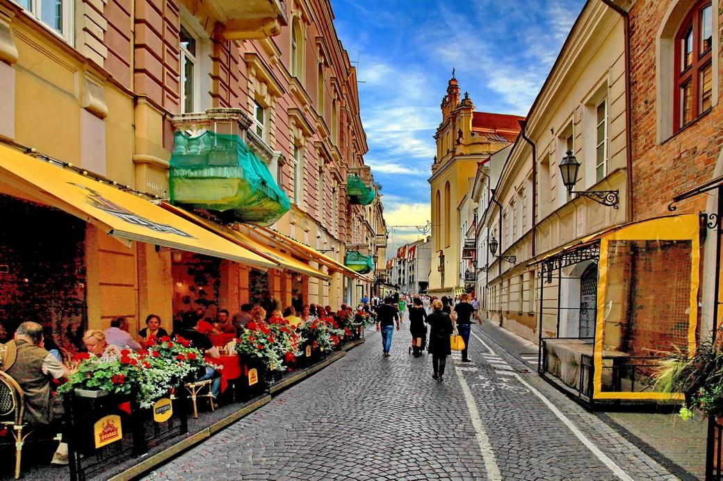 Пешеходная экскурсия по Старому городу Вильнюса